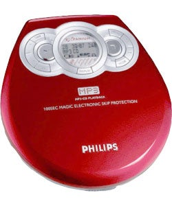 Philips EXP320 Portable MP3//CD Player