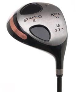 Stiletto II Beta Titanium 9-degree RH Driver - Thumbnail 0