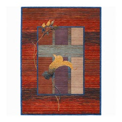 Nourison New Horizon Green Tea Rug (2'6 x 8)