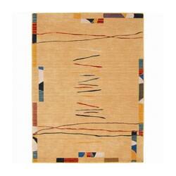 Nourison Mirage Black Rug (2'6 x 4) - Thumbnail 0