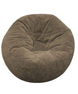 Gold Medal Sueded Corduroy Teen Beanbag (Toast)