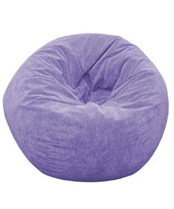 Gold Medal Sueded Corduroy Teen Beanbag (Lilac)
