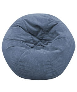 Gold Medal Sueded Corduroy Kid's Beanbag (Blue)