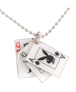 playboy club credit card necklace bkoi