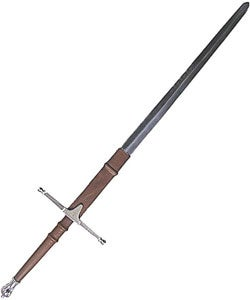 William Wallace Silver Finish Medieval Sword