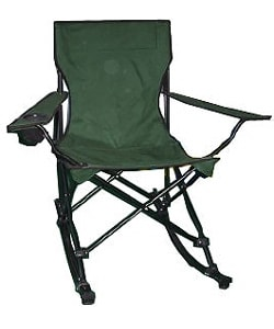 Portable Blue Camping Chair Rockers (Set of 2) - Free Shipping Today ...