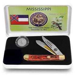 U.S. Mint Mississippi State Quarter and Knife Set - Thumbnail 0