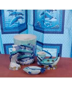 Dolphin Bathroom Accessories Set