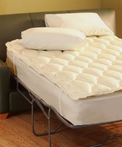 Aston Sofa Sleeper Pillow Top Mattress Pad Overstock Shopping Great Deals on