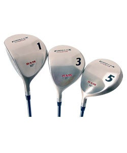 Ram Golf Formula X Titanium Wood Set - Left Hand - Thumbnail 0