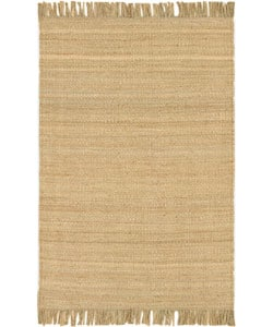 Hand-woven Jute Natural Rug (8' x 10'6)