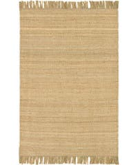 Hand-woven Jute Natural Area Rug (8' x 10'6)