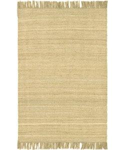 Hand-woven Jute Bleached Runner (2'6 x 7'5)