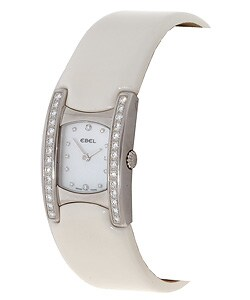 Ebel Beluga Manchette Women's Diamond Cream Watch