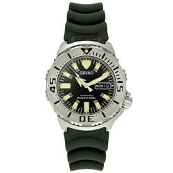 Seiko Diver Men's Automatic Black Dial Watch