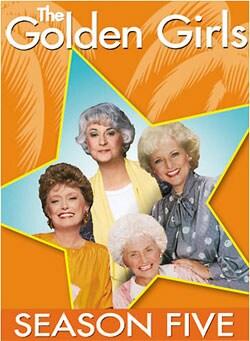 The Golden Girls: Season Five (DVD)