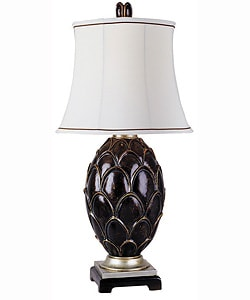 Shop Artichoke Ceramic Table Lamp Free Shipping Today