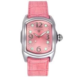 Thumbnail 1, Swiss Legend Women's Pink Leather Watch.