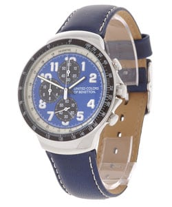 Shop united colors of benetton men 39 s blue dial watch free shipping today 1893550 for Benetton watches