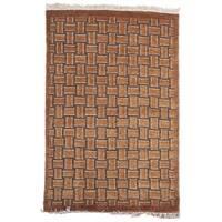 Safavieh Hand-knotted Tibetan Geometric Beige/ Multi Wool Rug - 8' x 10