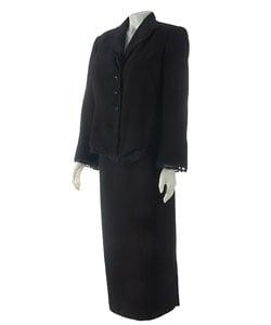 Liz Claiborne Plus Size 2-piece Black Skirt Suit | Overstock.com Shopping -  The Best Deals on Suits & Suit Separates
