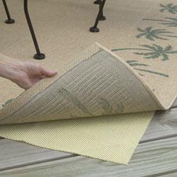 Con-Tact Brand Rectangular Outdoor Patio Rug Pad (6' x 9')