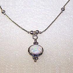 Oval Moonstone Pendant (Case of 2)