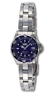 Invicta Pro Diver SQ Women's Steel Watch