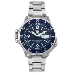 Thumbnail 1, Seiko Sport 5 Men's Automatic Steel Watch.