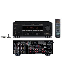 Yamaha Htr 5860 71 Channel Receiver Refurbished Overstockcom Shopping The Best Deals On Receivers Amplifiers