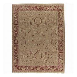 Nourison Millennia Gold Wool Rug - 5'10 x 8'10 - Thumbnail 0