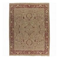 Nourison Millennia Gold Wool Rug - 5'10 x 8'10
