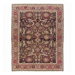 Nourison Millennia Brown Wool Rug - 9'10 x 11'10 - Thumbnail 0