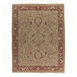 Nourison Millennia Gold Wool Rug - 7'10 x 9'10 - Thumbnail 0