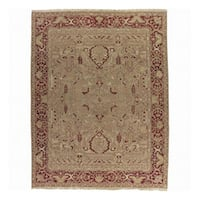 Nourison Millennia Gold Wool Rug - 7'10 x 9'10