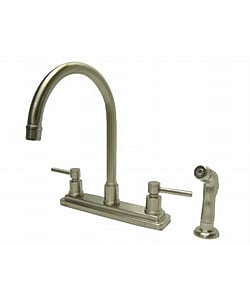 Concord Satin Nickel Lever-handle Kitchen Faucet