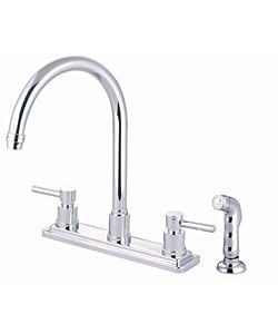 Concord Chrome Lever-handle Kitchen Faucet