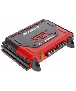 MTX Road Thunder RT202 Two-channel 200 Watt Car Audio Amplifier (Refurbished) - Thumbnail 0