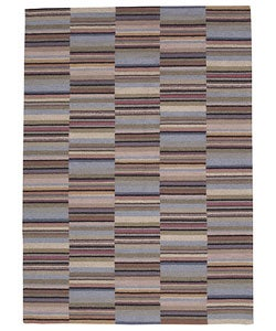 Nourison Hand-knotted Martha Multicolor Rug (5'6 x 7'8) - Thumbnail 0