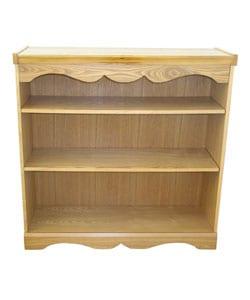 Adjustable Shelf Honey Oak Bookcase
