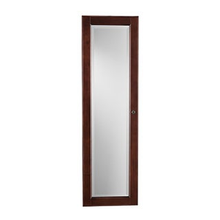 Harper Blvd Wall-mount Burgundy Cherry Jewelry Mirror