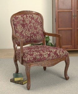 burgundy accent chairs living room burgundy accent chair 10374630 overstock shopping 19096