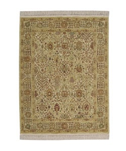 Nourison Graphic Illusions Chocolate Rug (3'10 x 6') - Thumbnail 0