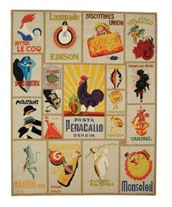 Safavieh Hand-hooked Vintage Poster Ivory Wool Rug - 8'9 X 11'9 - Thumbnail 0