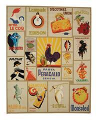 Safavieh Hand-hooked Vintage Poster Ivory Wool Rug - 8'9 X 11'9