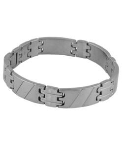 Stainless Steel Interlocked Link Bracelet