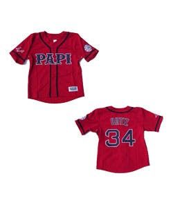 sneakers for cheap cdc68 2e065 David Ortiz Red 'Papi' Jersey | Overstock.com Shopping - The Best Deals on  Baseball