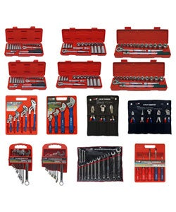 Thumbnail 1, Grip 177 pc Professional Complete Hand Tool Set.