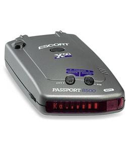 shop escort passport 8500 x50 red radar detector free shipping today 2178262. Black Bedroom Furniture Sets. Home Design Ideas