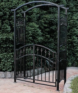 Orleans Wrought Iron Garden Arbor Free Shipping Today